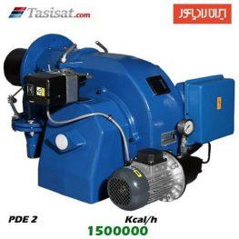 مشعل گازوئیل سوز ایران رادیاتور 1500000 kcal/h مدل PDE 2