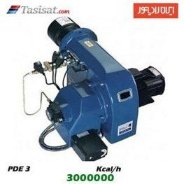 مشعل گازوئیل سوز ایران رادیاتور 3000000 kcal/h مدل PDE 3