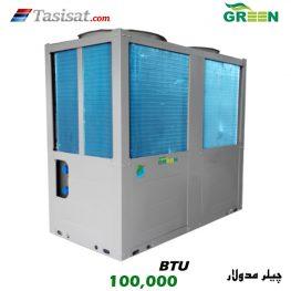 چیلر مدولار سری H گرین ظرفیت 100000 BTU مدل GACCH-30P3T1