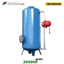 سختی گیر نیمه اتوماتیک تکوود TECHWOOD ظرفیت 200000 grain