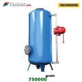 سختی گیر نیمه اتوماتیک تکوود TECHWOOD ظرفیت 750000 grain