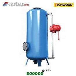 سختی گیر نیمه اتوماتیک تکوود TECHWOOD ظرفیت 800000 grain