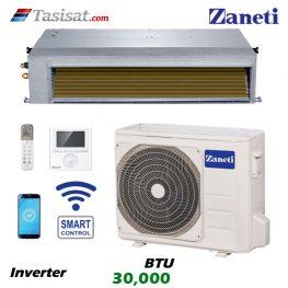 داکت اسپلیت اینورتر زانتی 30000 BTU مدل ZMDA-30HD1RANA
