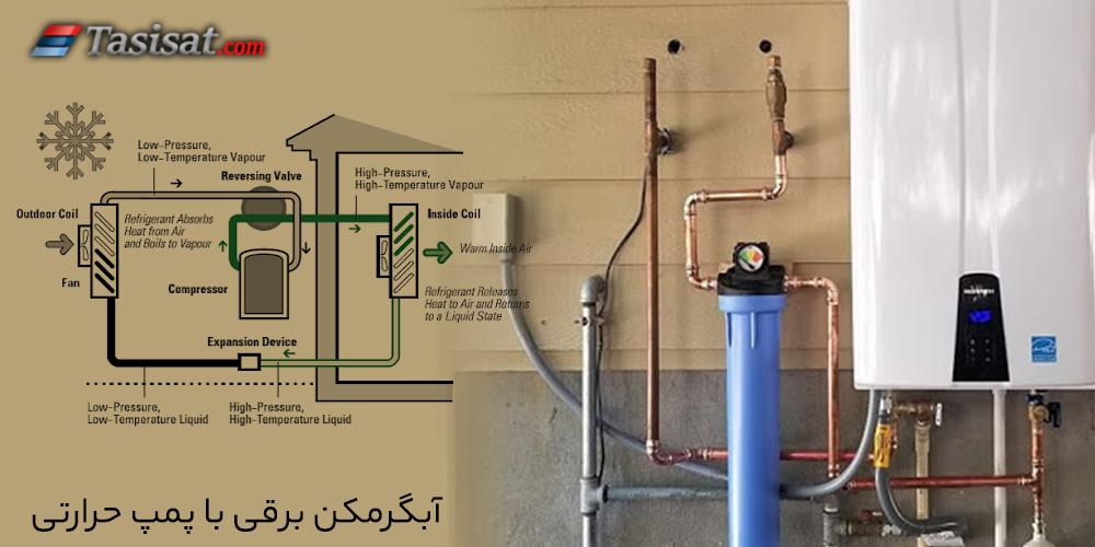 آبگرمکن برقی با پمپ حرارتی