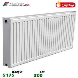 رادیاتور پانلی ایساتیس 300 سانت ظرفیت 5175 Kcal/h