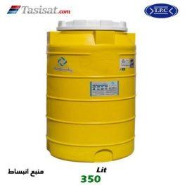 منبع انبساط پلاستیکی فوم دار طبرستان 350 لیتری