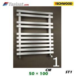 رادیاتور استیل تکوود Techwood سایز 50*100 مدل ST1