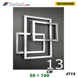 رادیاتور استیل تکوود Techwood سایز 50*100 مدل ST13