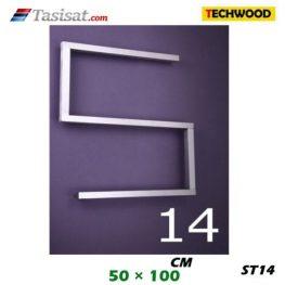 رادیاتور استیل تکوود Techwood سایز 50*100 مدل ST14