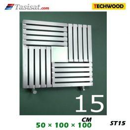 رادیاتور استیل تکوود Techwood سایز 50*100*100 مدل ST15