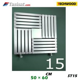 رادیاتور استیل تکوود Techwood سایز 50*60*60 مدل ST15