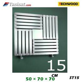 رادیاتور استیل تکوود Techwood سایز 50*70*70 مدل ST15