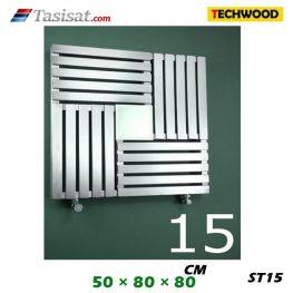 رادیاتور استیل تکوود Techwood سایز 50*80*80 مدل ST15