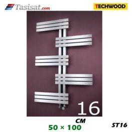 رادیاتور استیل تکوود Techwood سایز 50*100 مدل ST16