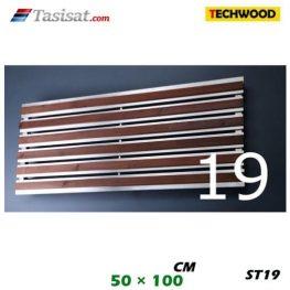 رادیاتور استیل تکوود Techwood سایز 50*100 مدل ST19