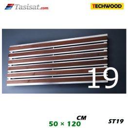 رادیاتور استیل تکوود Techwood سایز 50*120 مدل ST19