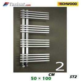 رادیاتور استیل تکوود Techwood سایز 50*100 مدل ST2