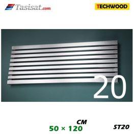 رادیاتور استیل تکوود Techwood سایز 50*120 مدل ST20