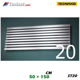 رادیاتور استیل تکوود Techwood سایز 50*150 مدل ST20
