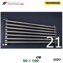 رادیاتور استیل تکوود Techwood سایز 50*100 مدل ST21