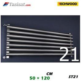 رادیاتور استیل تکوود Techwood سایز 50*120 مدل ST21
