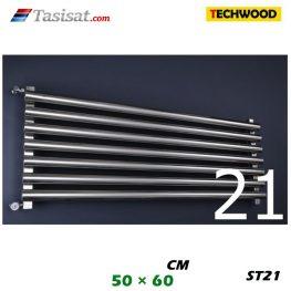 رادیاتور استیل تکوود Techwood سایز 50*60 مدل ST21