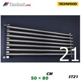 رادیاتور استیل تکوود Techwood سایز 50*80 مدل ST21