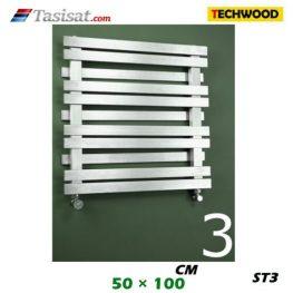 رادیاتور استیل تکوود Techwood سایز 50*100 مدل ST3