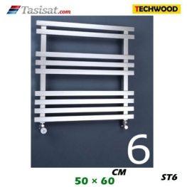 رادیاتور استیل تکوود Techwood سایز 50*60 مدل ST6