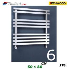 رادیاتور استیل تکوود Techwood سایز 50*80 مدل ST6