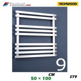 رادیاتور استیل تکوود Techwood سایز 50*100 مدل ST9