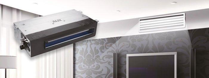 مشخصات یونیت داخلی سقفی توکار فشار استاتیک بالا آکس