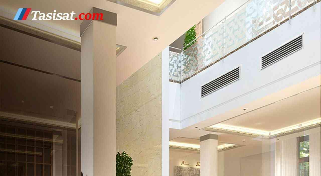 فن کویل سقفی آذرنسیم