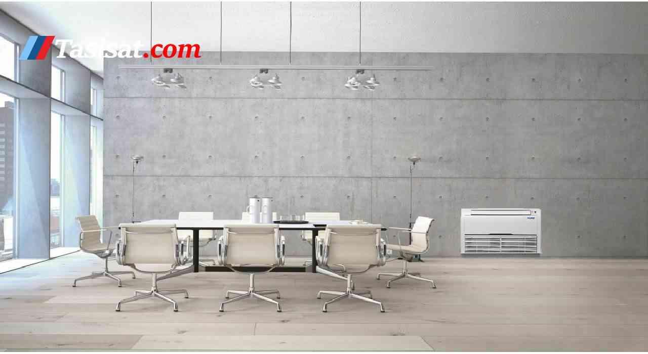 مشخصات فن کویل سقفی زمینی آکس