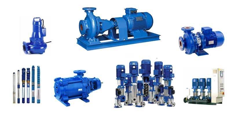 معایب پمپ آب صنعتی
