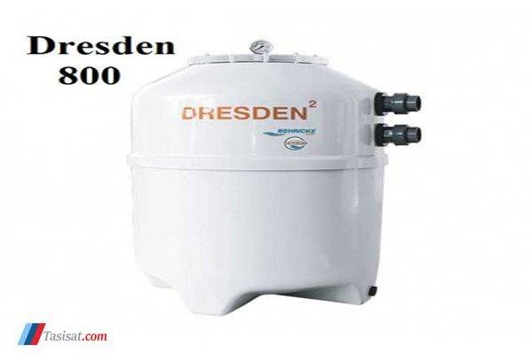 ویژگی های فیلتر شنی استخر BEHNCKE مدل DRESDEN800