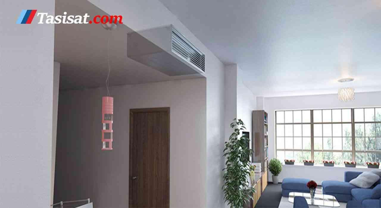 فن کویل سقفی توکار تهویه